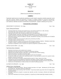 sample resume for warehouse worker template sample resume for warehouse worker