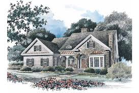 Eplans French Country House Plan   Sparkling Sunroom   Square    Front