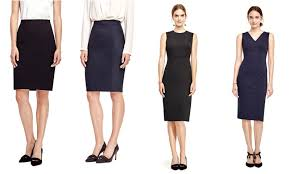 franish the interview suit part one black skirt navy skirt black dress navy dress