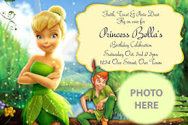 tinkerbell birthday invitations com