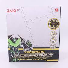 <b>Робот</b>-<b>трансформер</b> на радиоуправлении Jeep Wrangler <b>Jia Qi</b> ...