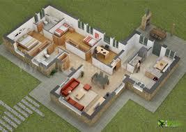 D Floor Plan Design  Interactive D Floor Plan   Yantram Studio d cgi floor plan