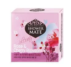 """<b>Shower Mate Мыло косметическое</b> """"Роза и вишневый цвет"""", 100 г ..."""