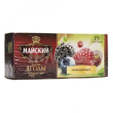 майский высокогорный черный чай в пакетиках 100 шт