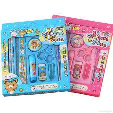 <b>10Pcs</b>/<b>set Children</b> Student Cute Stationery Birthday Gift <b>Random</b> ...