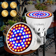 <b>E27 LED Grow</b> Light E14 LED Plant Lamp Growing Lamp For Indoor ...