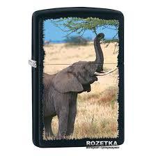 Зажигалка Zippo Elephant (28666). Цена, купить ... - ROZETKA
