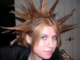 Image result for punk hairstyles