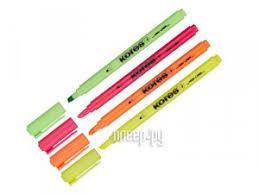 <b>Маркер Kores</b> 0.5-3.5mm набор 4 цвета 400747