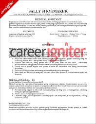medical assistant resume sample   career ignitermedical assistant resume sample