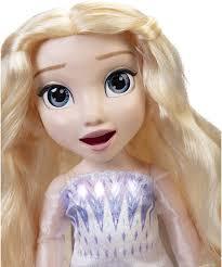 <b>Frozen 2</b>, <b>кукла Эльза</b> Magic in Motion. Голова и рот двигаются ...