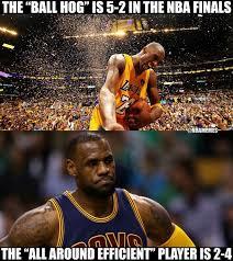 Kobe & LeBron. - http://nbafunnymeme.com/nba-funny-memes/kobe ... via Relatably.com