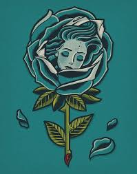 """Dave Quiggle """"<b>Wrapped in Petals</b>"""" Print 