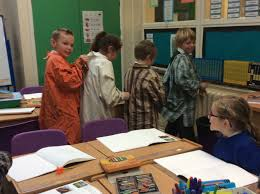 year four we work hard to develop a range of skills in class today saw a great example of team work
