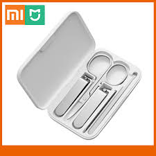 Xiaomi <b>Mijia</b> Nail Clipper Set <b>5Pcs</b> Portable Fingernail Toenail ...
