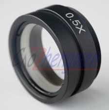 FYSCOPE <b>0.5X Barlow Lens</b> for Industrial Microscope Camera ...