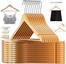 Wood - Clothes Hangers / Clothing & Wardrobe Storage ... - Amazon.in