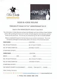 vera inc home page tom quilty 2015 horse and rider resume