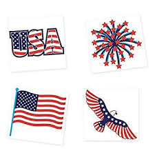 Patriotic Party Tattoos, 4