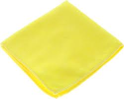 """Салфетка для уборки """"<b>Sol</b>"""" из микрофибры, цвет: желтый, 30 x ..."""