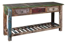 reclaimed wood sofa table media image 1 affordable reclaimed wood furniture