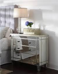 image of park mirrored bedside table bedroom furniture bedside cabinets mirror antique