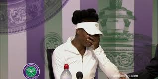 Venus Williams breaks down in tears during Wimbledon press ...