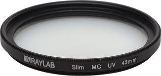 <b>Фильтр</b> защитный ультрафиолетовый <b>RayLab UV Slim</b> 43mm ...