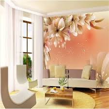 <b>Custom</b> photo <b>wall</b> paper Large <b>mural 3D</b> Cozy bedroom modern ...