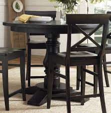 Dining Room Set Counter Height Montibello Dining Room Set Black Round Counter Height Table