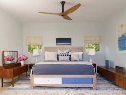 harbor breeze ceiling fan bedroom contemporary with bedroom beige and blue baseboards ceiling fan