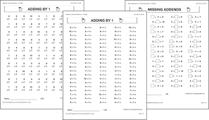 Math WorksheetsThese math worksheets are printable and are organized by either subject (ie: addition, subtraction, multiplication, division) ...