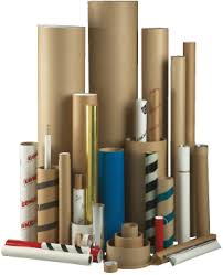 a variety of tubes and cores manufactured by chicago mailing tube cardboard tubes
