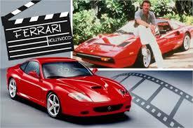 В каких популярных фильмах снимались <b>автомобили Ferrari</b>