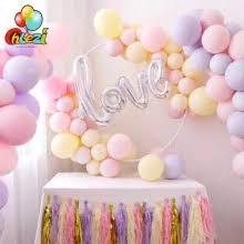 50pcs/<b>lot 10</b> inch thick heart-shaped red latex balloons birthday ...