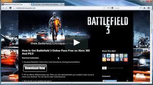 how to unlock battlefield 3 online pass xbox 360 ps3 on how to unlock battlefield 3 online pass xbox 360 ps3 on vimeo