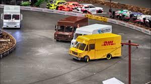 RC DELIVERY TRUCKS DRIFT BATTLE * <b>DHL</b> HERMES <b>UPS</b> ...