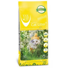 <b>VAN CAT Natural</b> Standart 15 кг комкующийся <b>наполнитель</b> для ...