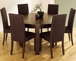 Contemporary Round Dining Table For 6 Creative Expandable Round Teak Wood Kitchen Table Leaf