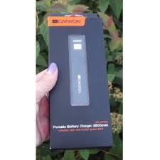 Отзывы о Внешний <b>аккумулятор Canyon CNE</b>-CSPB26B <b>2600mAh</b>