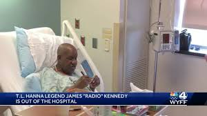 "T.L. Hanna legend James ""Radio"" Kennedy released from hospital ..."