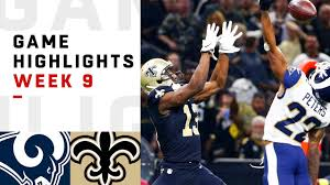 Rams vs. Saints Week 9 Highlights   NFL 2018 - YouTube