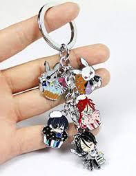 <b>Anime Black Butler</b> 5 Pendants <b>Keychain Keyring</b>: Amazon.co.uk ...