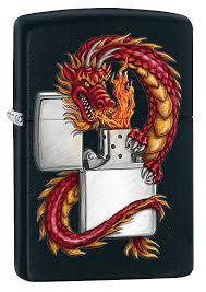 Бензиновая <b>зажигалка Zippo</b> Classic. Oriental <b>Dragon</b>, 10 мл ...