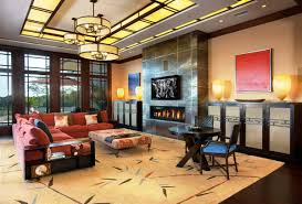 warm toned lighting transforms this modern space into a welcoming home big living room furniture living room