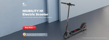 <b>NIUBILITY N1 Electric</b> Scooter Global Launch Sale