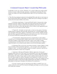 Wonderful Leadership Essay Example   Brefash