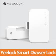 Original Youpin <b>YEELOCK Smart Drawer Cabinet</b> Lock Keyless ...
