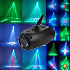 LED Stage Effect Lighting <b>Portable Music Auto/Sound Active</b> 64 ...