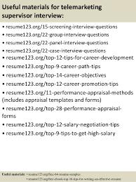 Telemarketing sales representative resume MyPerfectResume com
